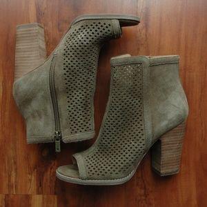 NWOT Lucky Brand Women's Shoes Open Toe Booties